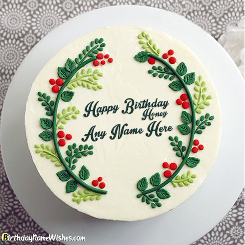 Birthday Cake Messages For Boyfriend With Name Generator
