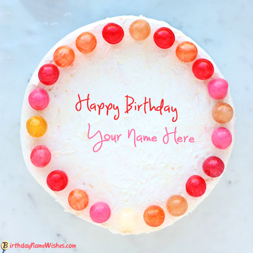 Download Happy Birthday Cake With Name For Free
