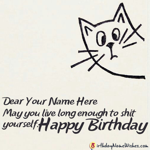 Cool Funny Birthday Wishes For Girls With Name Editor Funny Birthday Cards Online Elaedamsfinfo