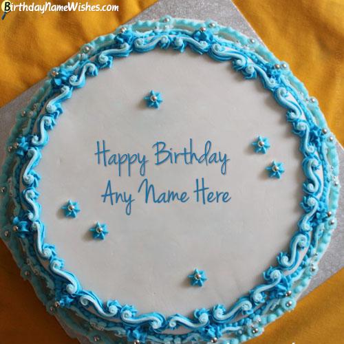 Homemade Name Birthday Cake Images For Boyfriend