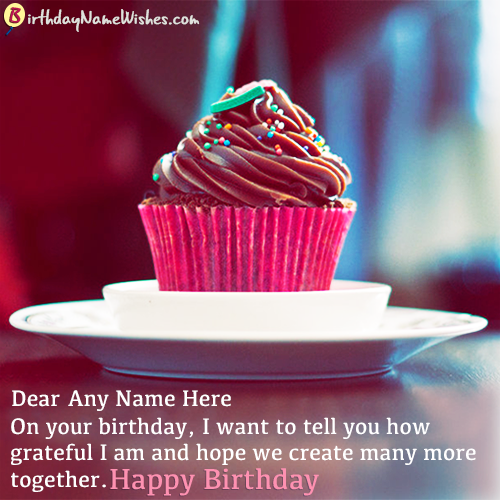 Magical Birthday Wishes With Name Editor Online