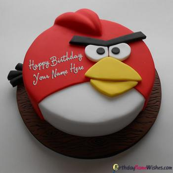 Angry Birds Birthday Cake For Brother Name Generator