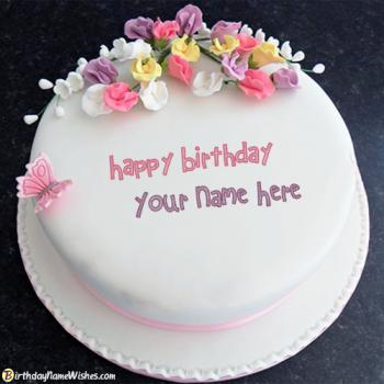 Amazing Happy Birthday Cakes For Boyfriend With Name Funny Birthday Cards Online Aeocydamsfinfo