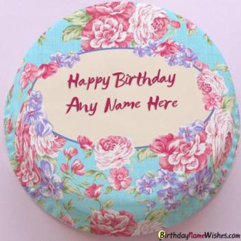 Create Online Birthday Cake For Girls With Name Editing