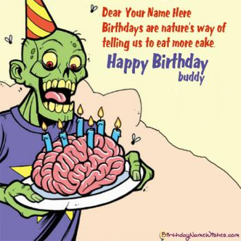 Happy Birthday Funny Images For Friend With Name