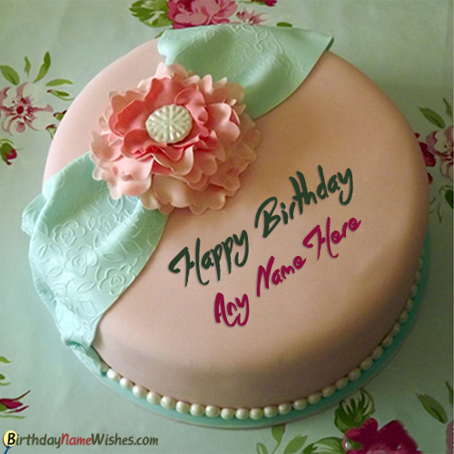 Happy Birthday Cake With Name Editing 3