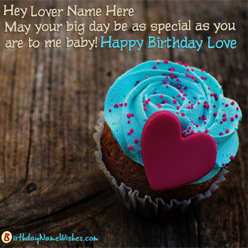 Beautiful Cupcake Name Birthday Poems For Lovers