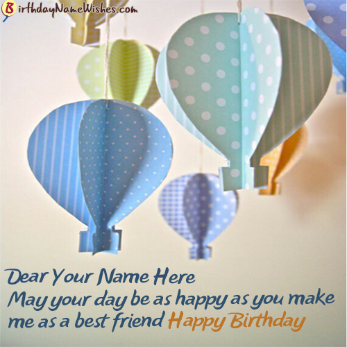 Birthday Wishes For Friends Quotes With Name