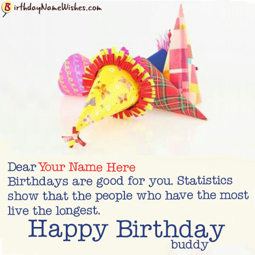 Funny Birthday Wishes For Friend With Name Writing