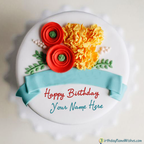 Happy Birthday Cake With Husband Name Free Download