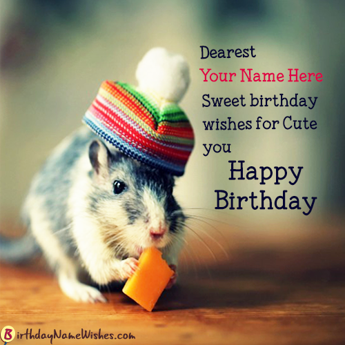 HD Birthday Wishes With Name Maker
