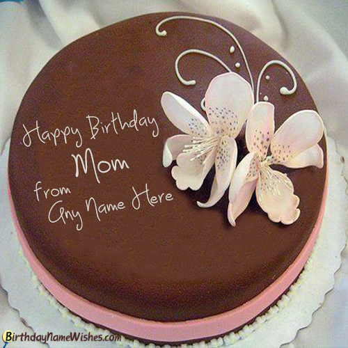 Online Birthday Cake Maker For Mother With Name